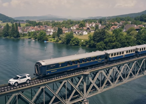 Land Rover Discovery Sport Tows 100 Tonne Train